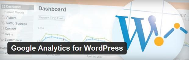 Google Analytics for WordPress plugin