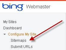 how to submit an xml sitemap to google bing