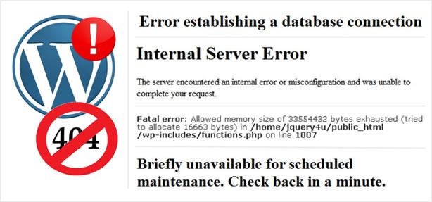 Website Errors