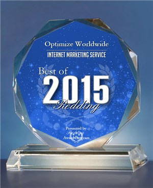2015 Best of Redding Award in the Internet Marketing Service