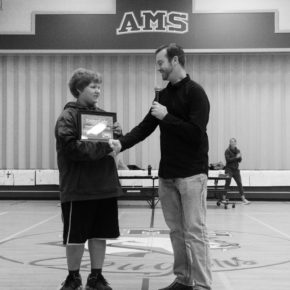 Matt Morgan Giving Build It Sponsorship to Local Middle School Boy
