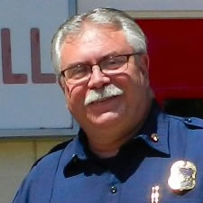 Monte Keady, Burney Fire Chief
