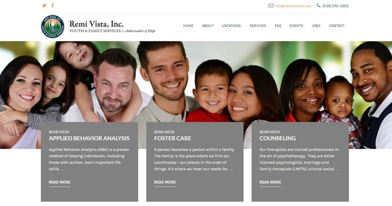 Remi Vista Medical - Website Design by Optimize Worldwide