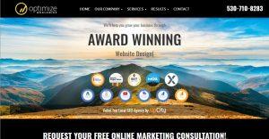 Award Winning Website Design & Digital Advertising by Optimize Worldwide