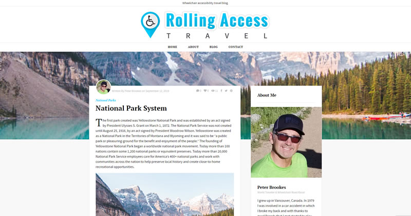 RollingAccessTravel.com - Website Design by Optimize Worldwide