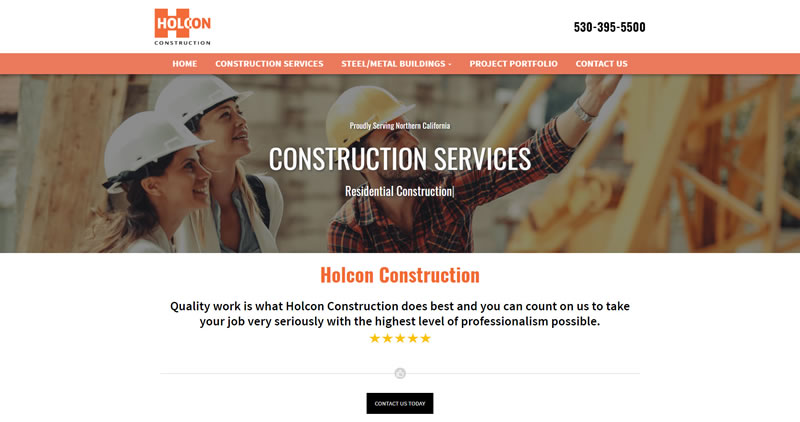 HolconCo.com - Website Design by Optimize Worldwide
