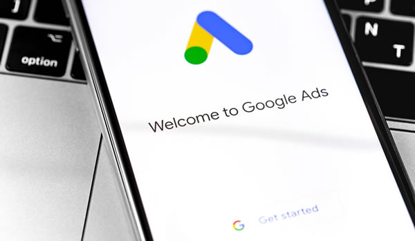 Google Ads on mobile phone
