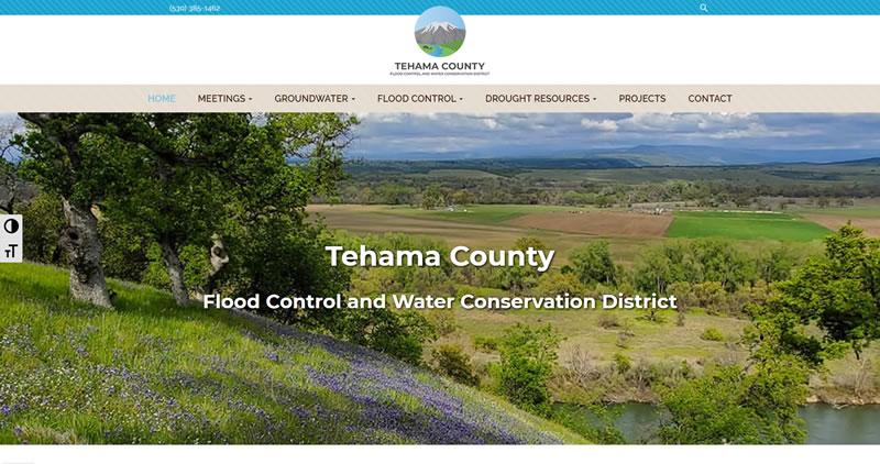 TehamaCountyWater.org - Website Design by Optimize Worldwide