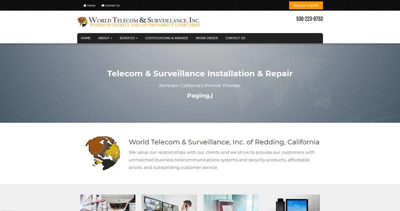 World Telecom - Website Design by Optimize Worldwide